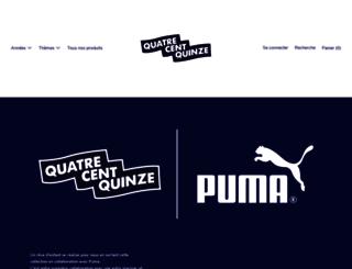 quatrecentquinze.fr screenshot
