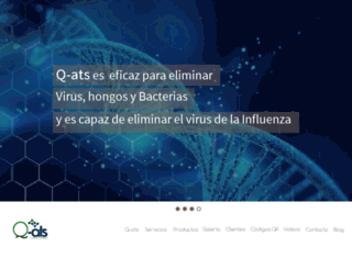 quats.com.mx screenshot