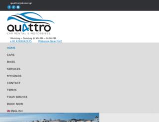 quattro-rac.gr screenshot