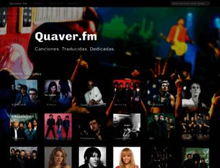 quaver.fm screenshot