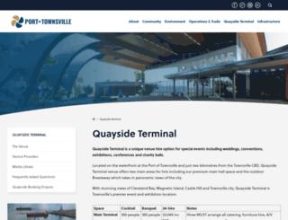 quaysideterminal.com.au screenshot