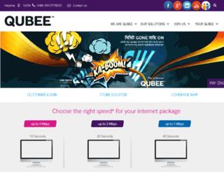 qubee.com.bd screenshot