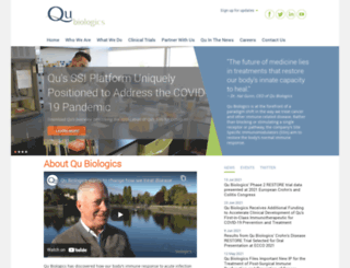 qubiologics.com screenshot