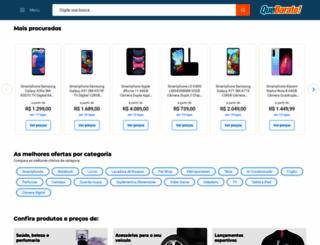 quebarato.com.br screenshot