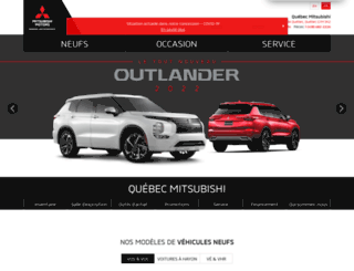 quebecmitsubishi.com screenshot