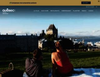 quebecregion.com screenshot