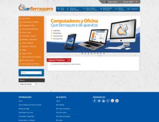 queberraquera.com screenshot
