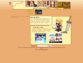 quecam.labrute.fr screenshot