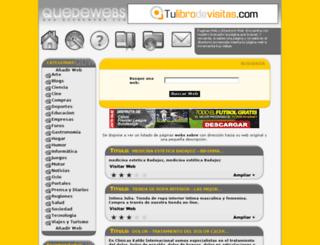 quedewebs.com screenshot