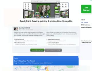 queekypaint.com screenshot