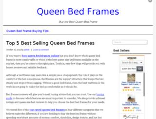 queen-bed-frames.com screenshot