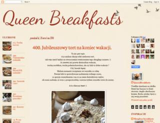 queenbreakfasts.blogspot.com screenshot