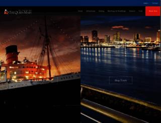 queenmary.com screenshot