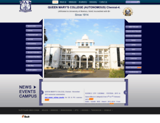 queenmaryscollege.com screenshot
