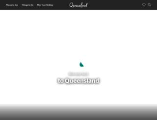 queensland.com.sg screenshot