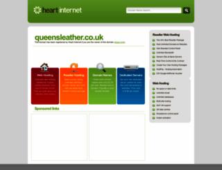 queensleather.co.uk screenshot
