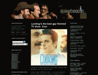 queerbeacon.com screenshot