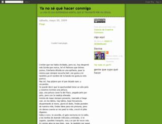 quehacerconmigo.blogspot.com screenshot