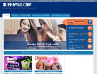 quehayparahacer.com screenshot
