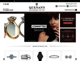quenansjewelers.com screenshot