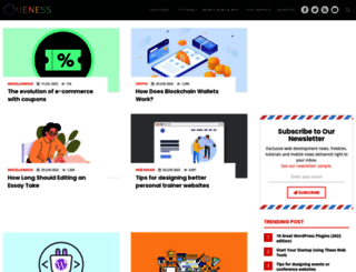 queness.com screenshot