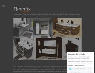 quentis-badmoebel.de screenshot