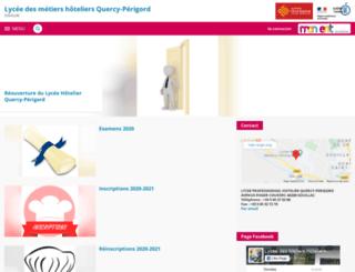 quercy-perigord.entmip.fr screenshot