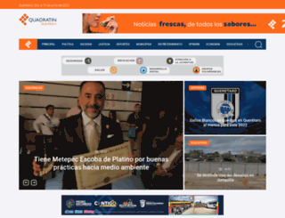 queretaro.quadratin.com.mx screenshot