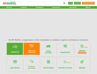 quero-comprar-vender-imoveis-rurais.mfrural.com.br screenshot