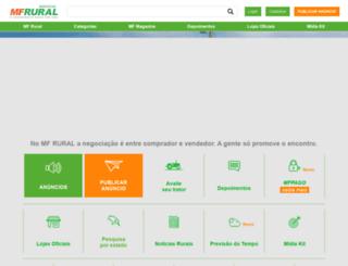 quero-comprar-vender-mudas-ramas.mfrural.com.br screenshot