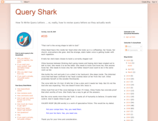 queryshark.blogspot.com screenshot