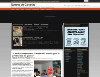 quesoscanarias.com screenshot