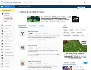 quest.software.informer.com screenshot