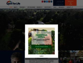 questforlife.com.au screenshot