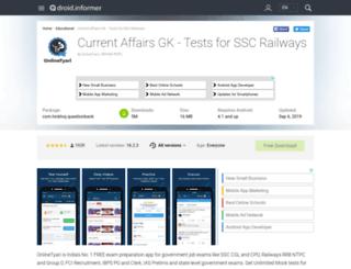 question-bank.android.informer.com screenshot