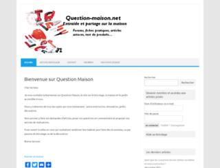 question-maison.net screenshot