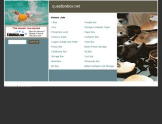 questionbox.net screenshot