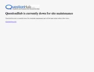 questionhub.com screenshot