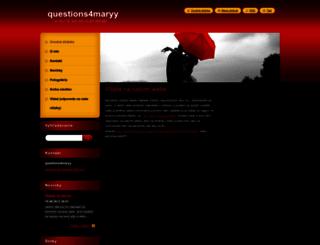 questions4maryy.webnode.sk screenshot