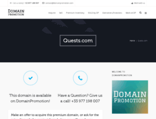 quests.com screenshot