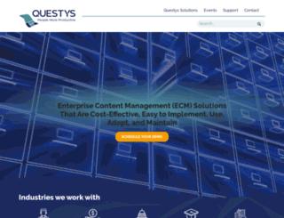 questyssolutions.com screenshot