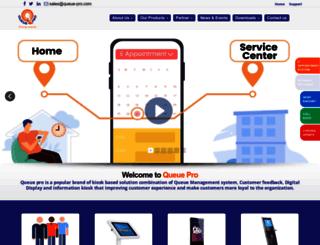 queue-pro.com screenshot