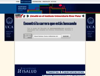 quevasaestudiar.com screenshot