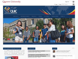 quic.queensu.ca screenshot