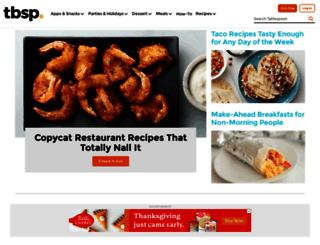 quick-dish.tablespoon.com screenshot