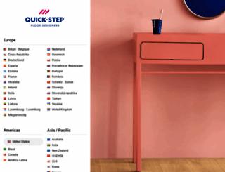 quick-step.com screenshot