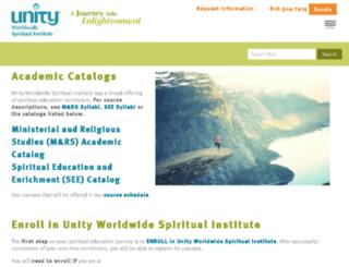 quickadmit.unityinstitute.org screenshot