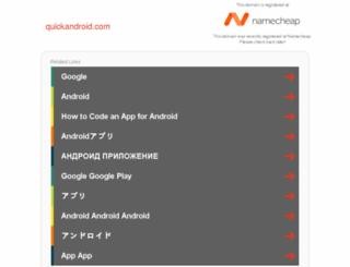 quickandroid.com screenshot