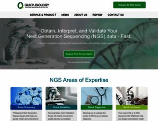 quickbiology.com screenshot