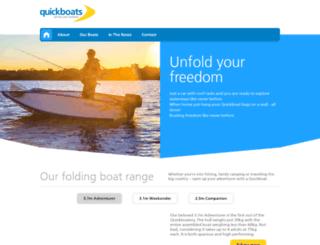 quickboats.com screenshot